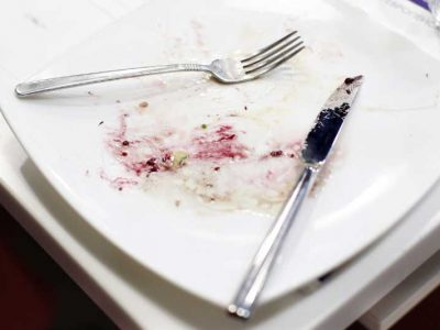 bigstock-Empty-Dirty-Plate-And-Cutlery--213755761